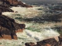 Rough Surf, Mount Desert Island, Maine