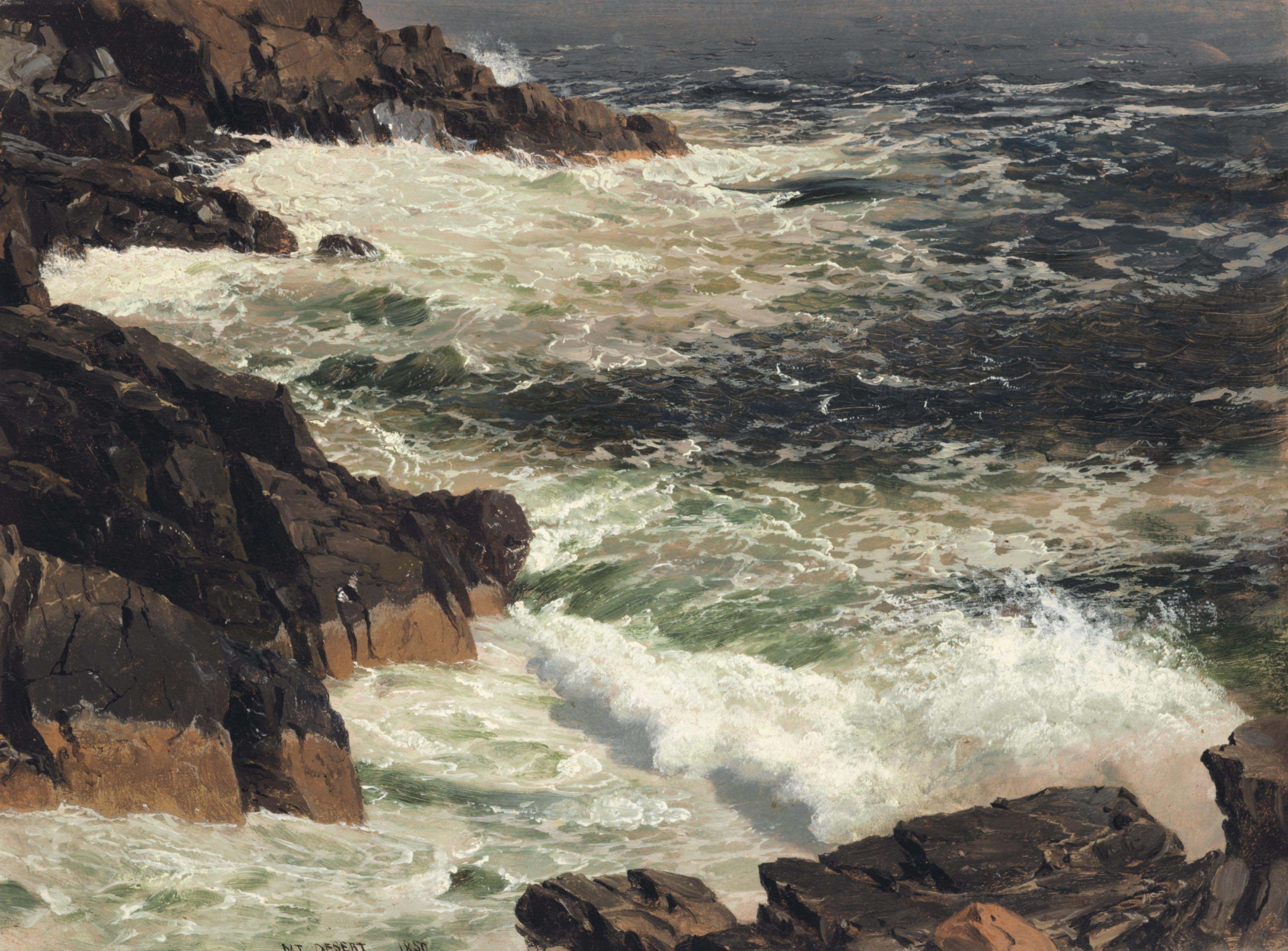 Rough Surf, Mount Desert Island, Maine