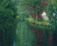 The River Epte, Giverny
