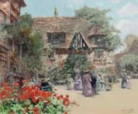 The Garden at the Inn of William the Conqueror