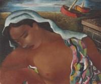 Mulatta on the Beach