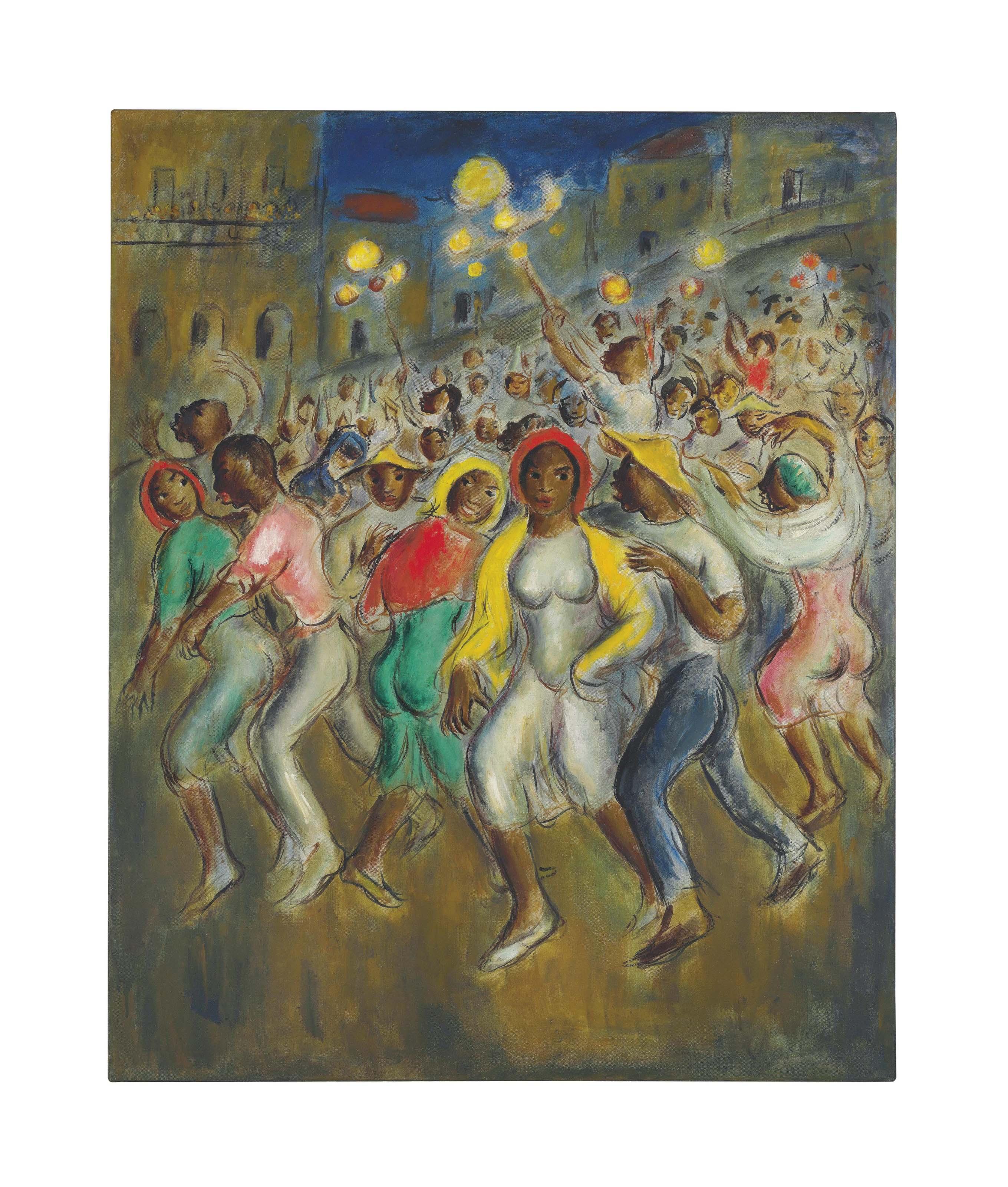 Carnaval (Escena de comparsa)