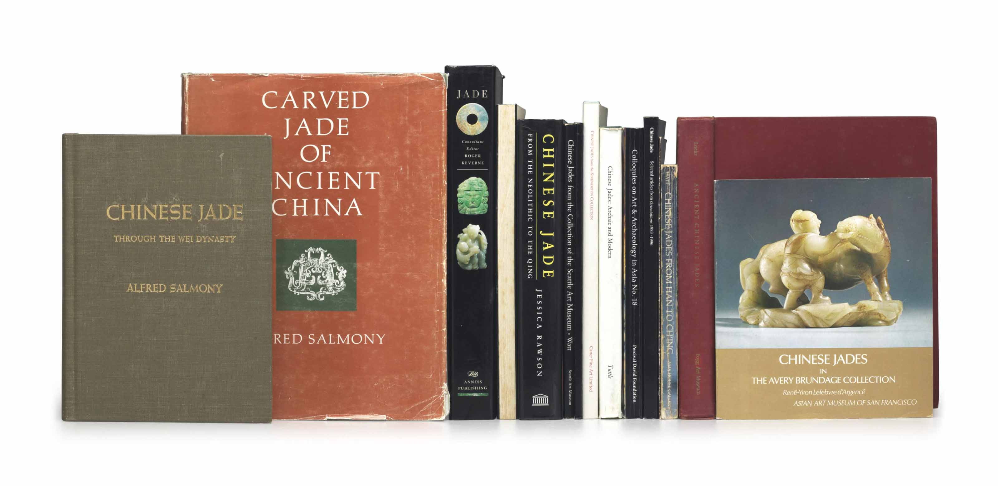 A GROUP OF REFERENCE BOOKS ON