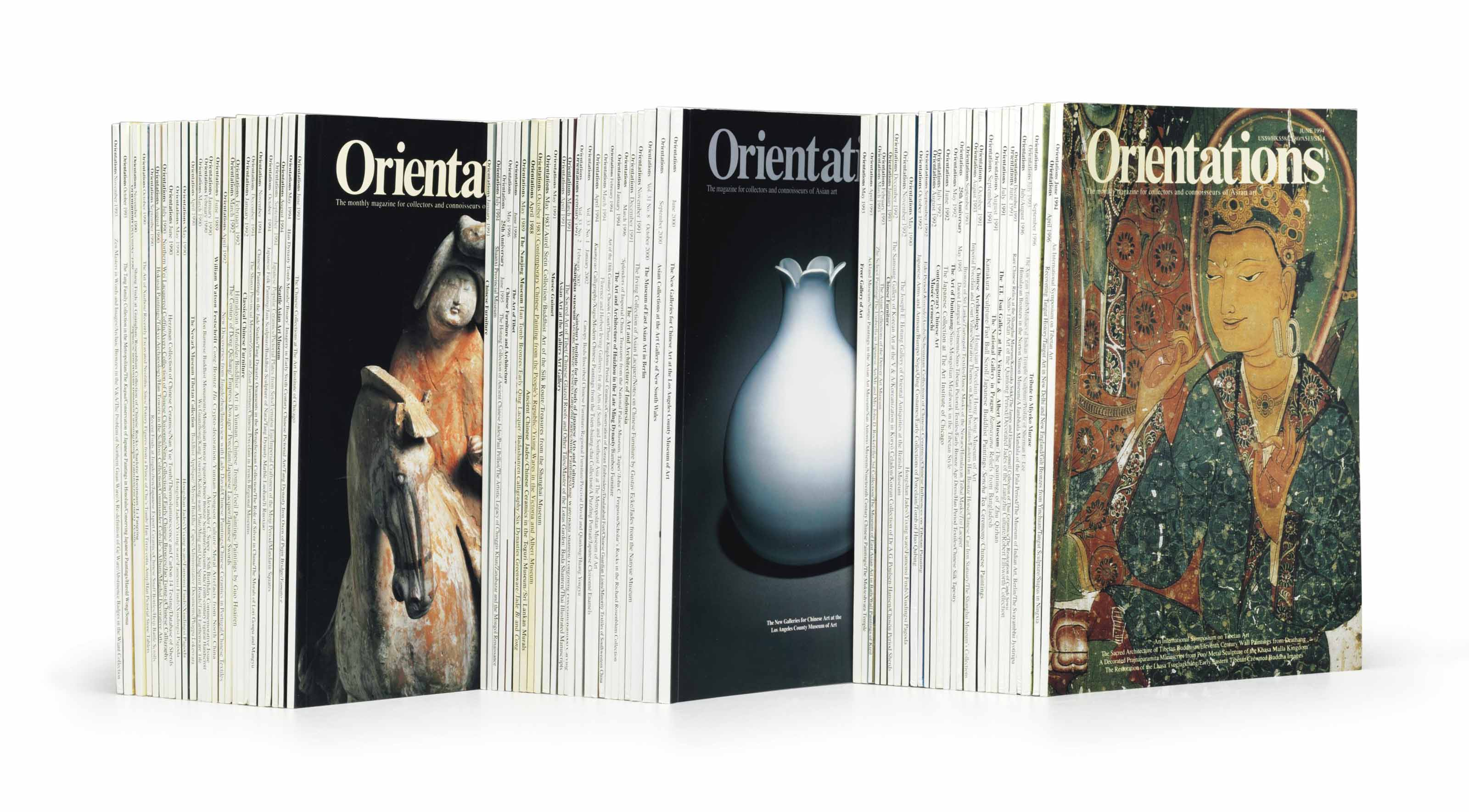 A GROUP OF ORIENTATIONS MAGAZI