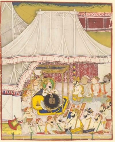 Maharaja Ram Singh II (1827-18