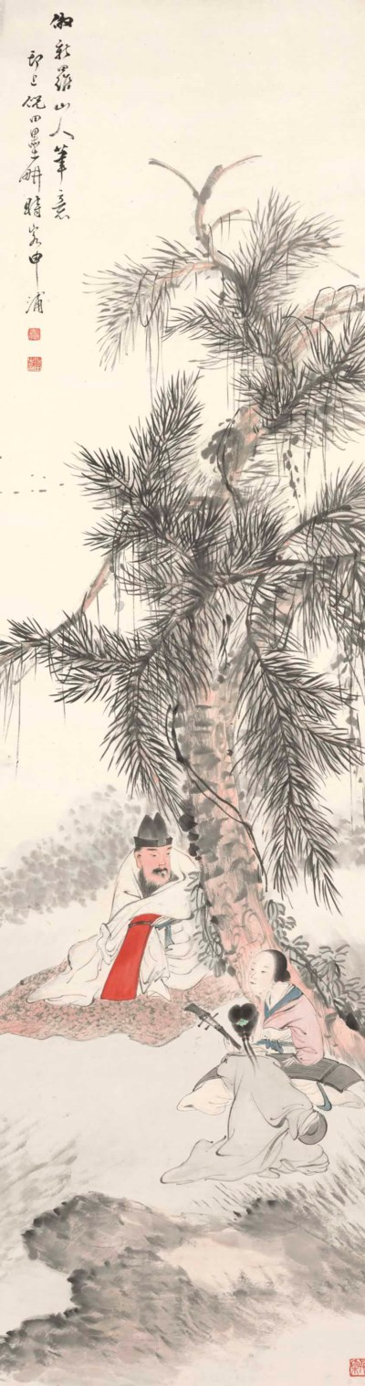 NI TIAN (1855-1919)