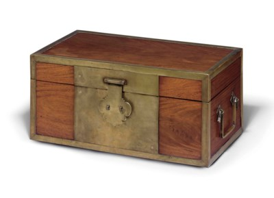A HUANGHUALI DOCUMENT BOX
