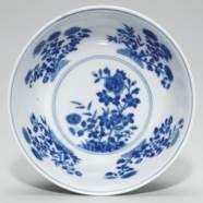 A PALE-BLUE SGRAFFITO-GROUND F