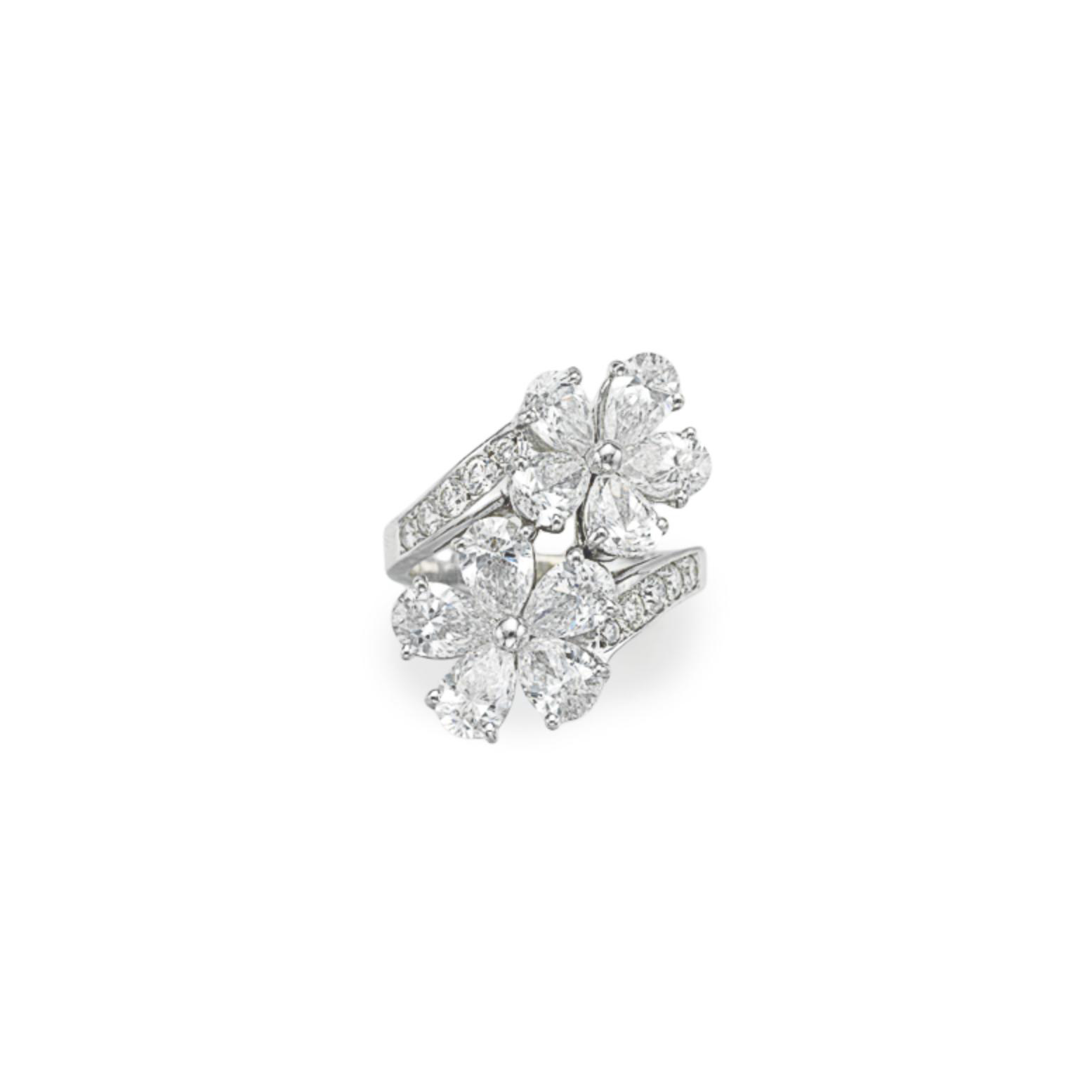 A DIAMOND 'CONTRAIRE' RING, BY