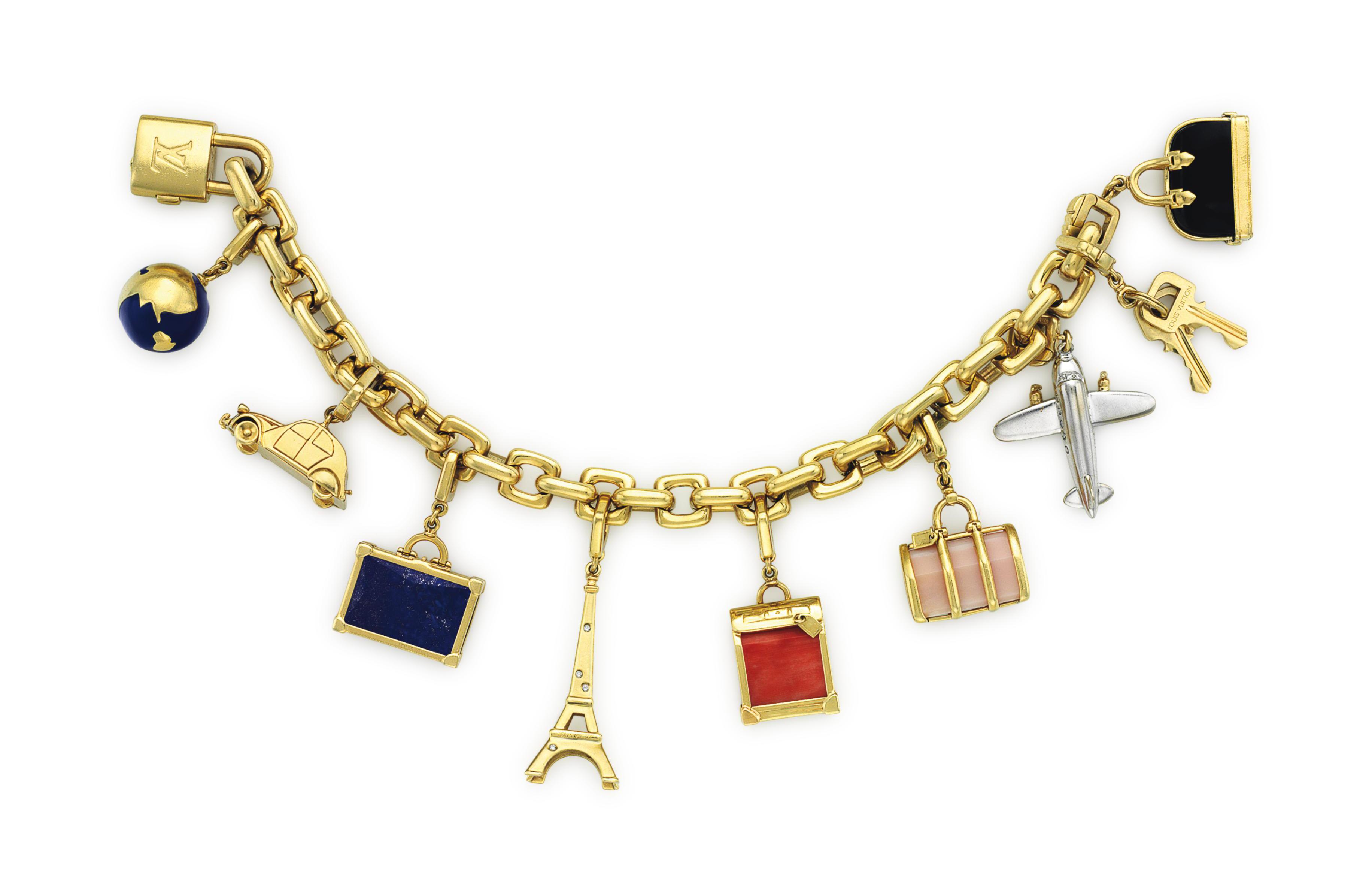 A MULTI-GEM, DIAMOND AND GOLD