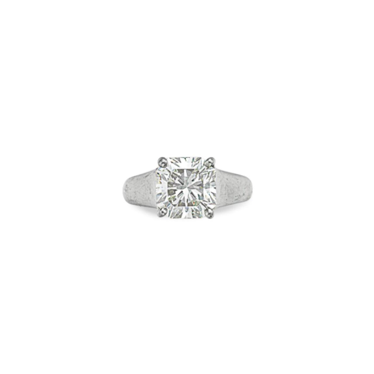 A DIAMOND 'LUCIDA' RING, BY TI