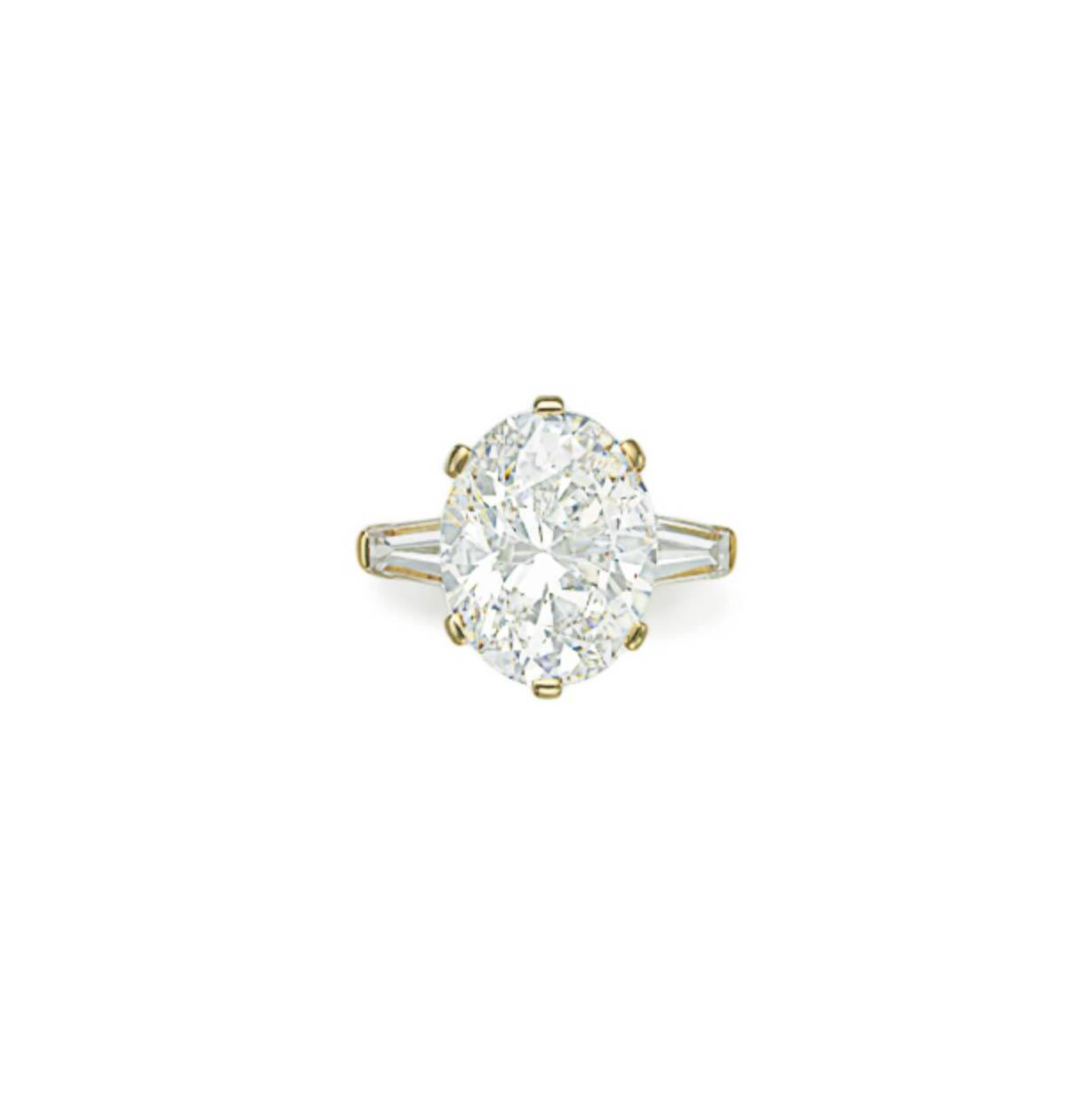 A DIAMOND RING, BY VAN CLEEF A
