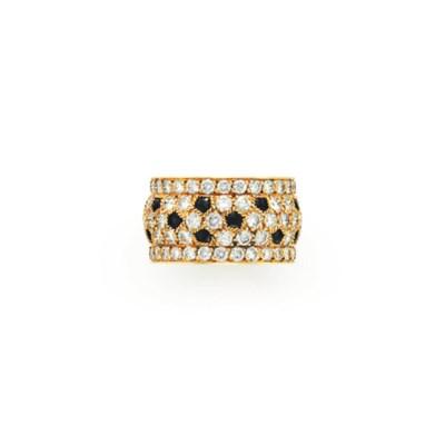 A DIAMOND AND ONYX 'PANTHÈRE'