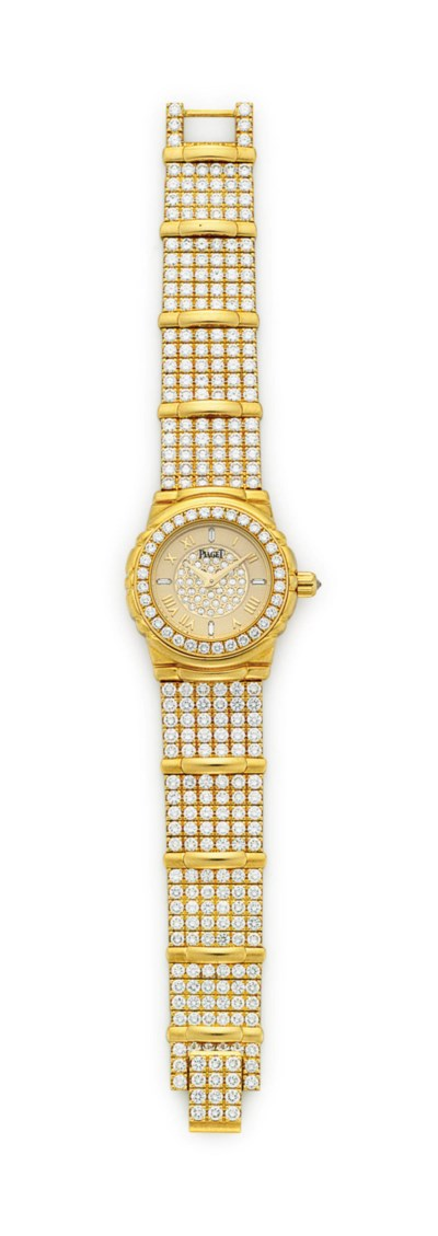 A DIAMOND AND GOLD 'TANAGRA' W