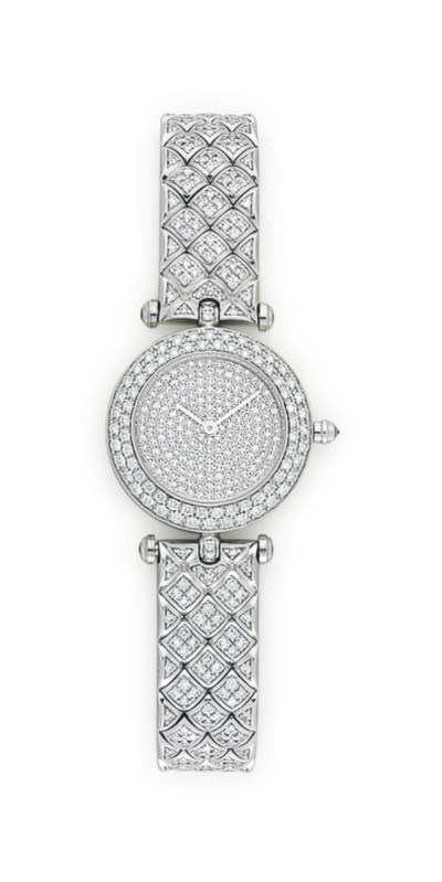 A DIAMOND AND GOLD 'CLASSIQUE'