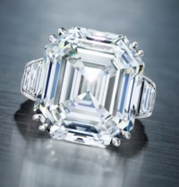 A DIAMOND RING, BY OSCAR HEYMAN & BROTHERS