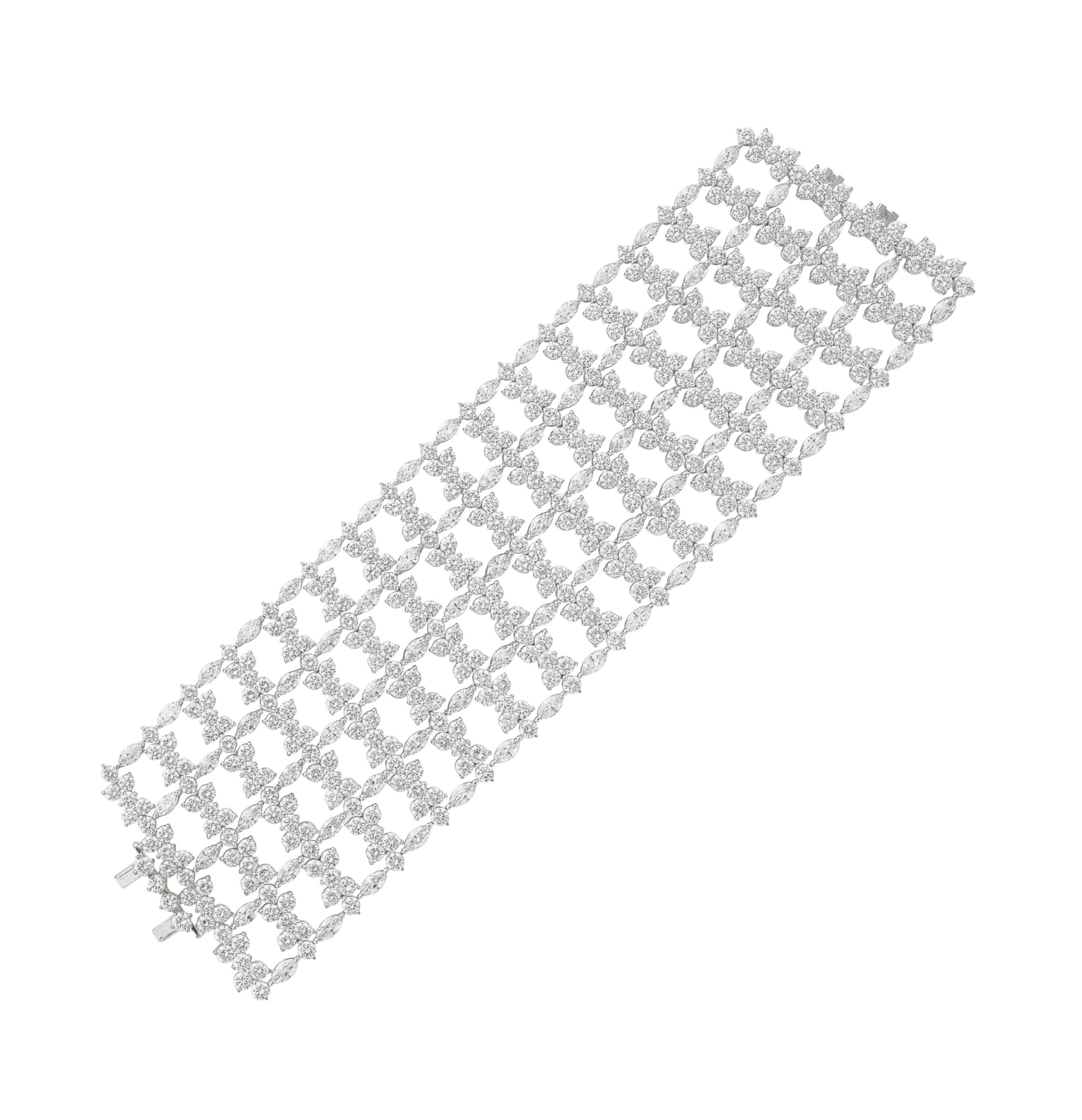 A DIAMOND BRACELET, BY SABBADI