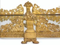 A MASSIVE FRENCH ORMOLU SURTOU