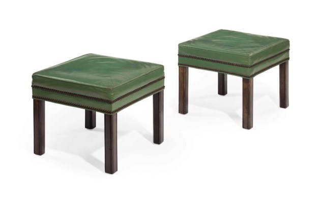 A PAIR OF GEORGE III STYLE STA