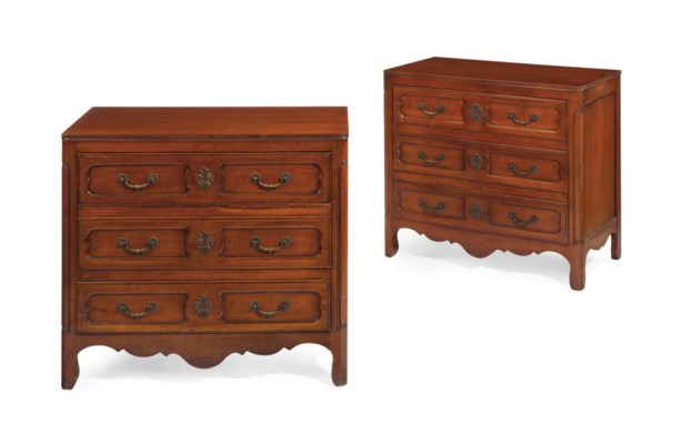 A PAIR OF FRENCH PROVINCIAL ST