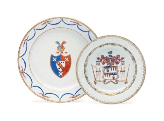A CHINESE EXPORT ARMORIAL PORC
