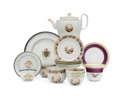 A GROUP OF CHINESE EXPORT WARE