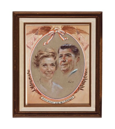 PRESIDENT AND MRS. RONALD REAG