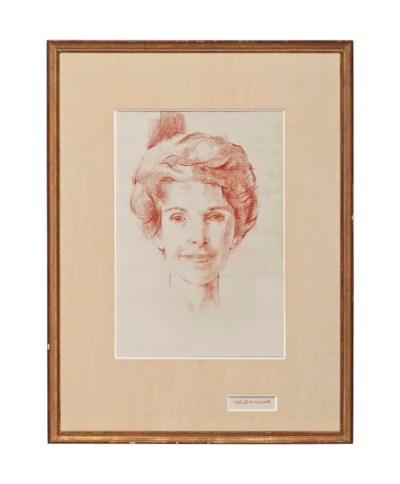 MRS. RONALD REAGAN  Artist Unk