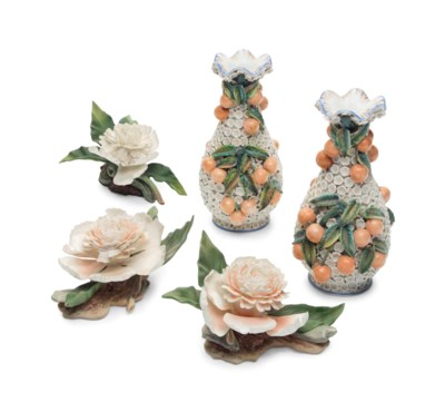 THREE BOEHM BISCUIT PORCELAIN