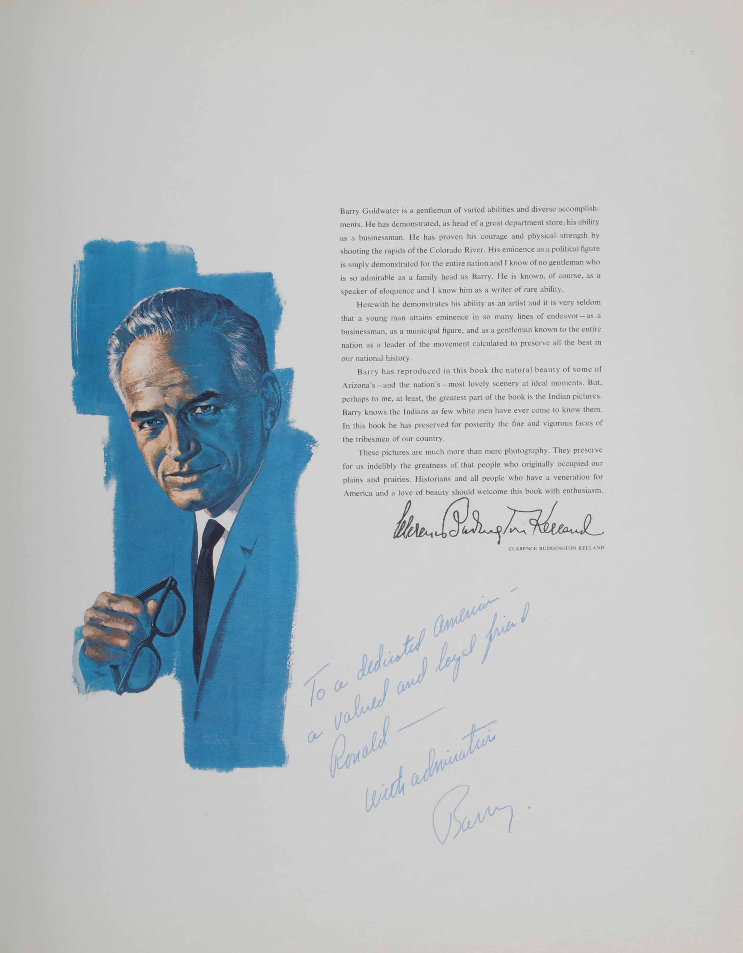 [GOLDWATER, Barry (1909-1998)]