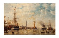 Celebration of the Freedom of the Port of Antwerp, 1863