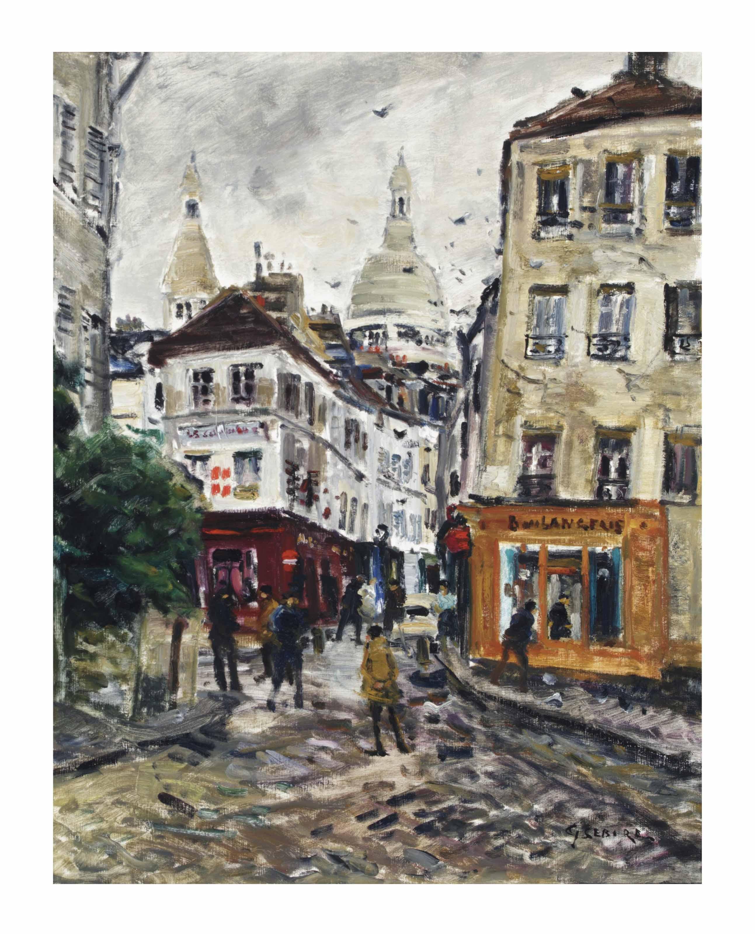 Gaston Sébire (French, 1920-20