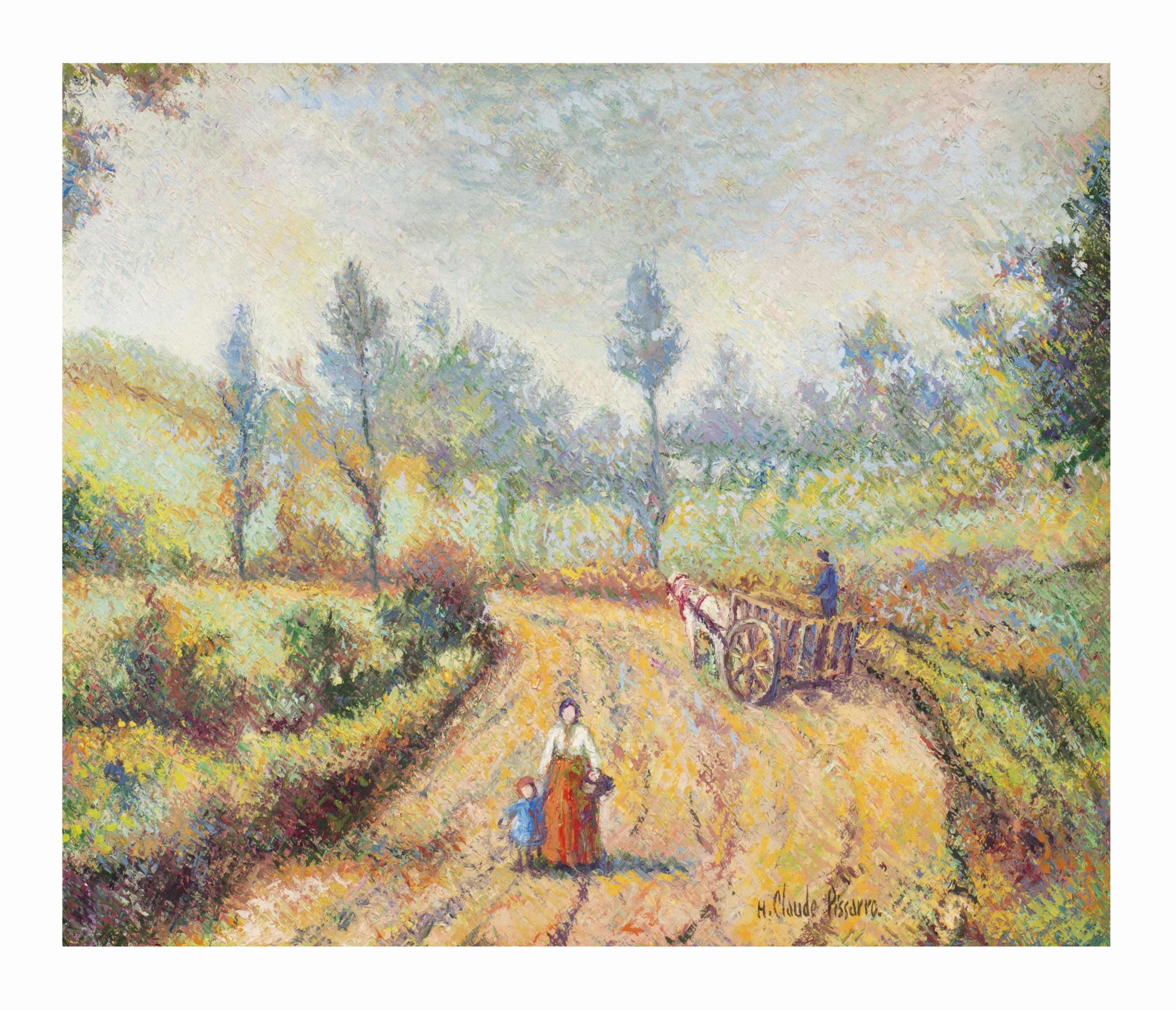 Hugues Claude Pissarro (French