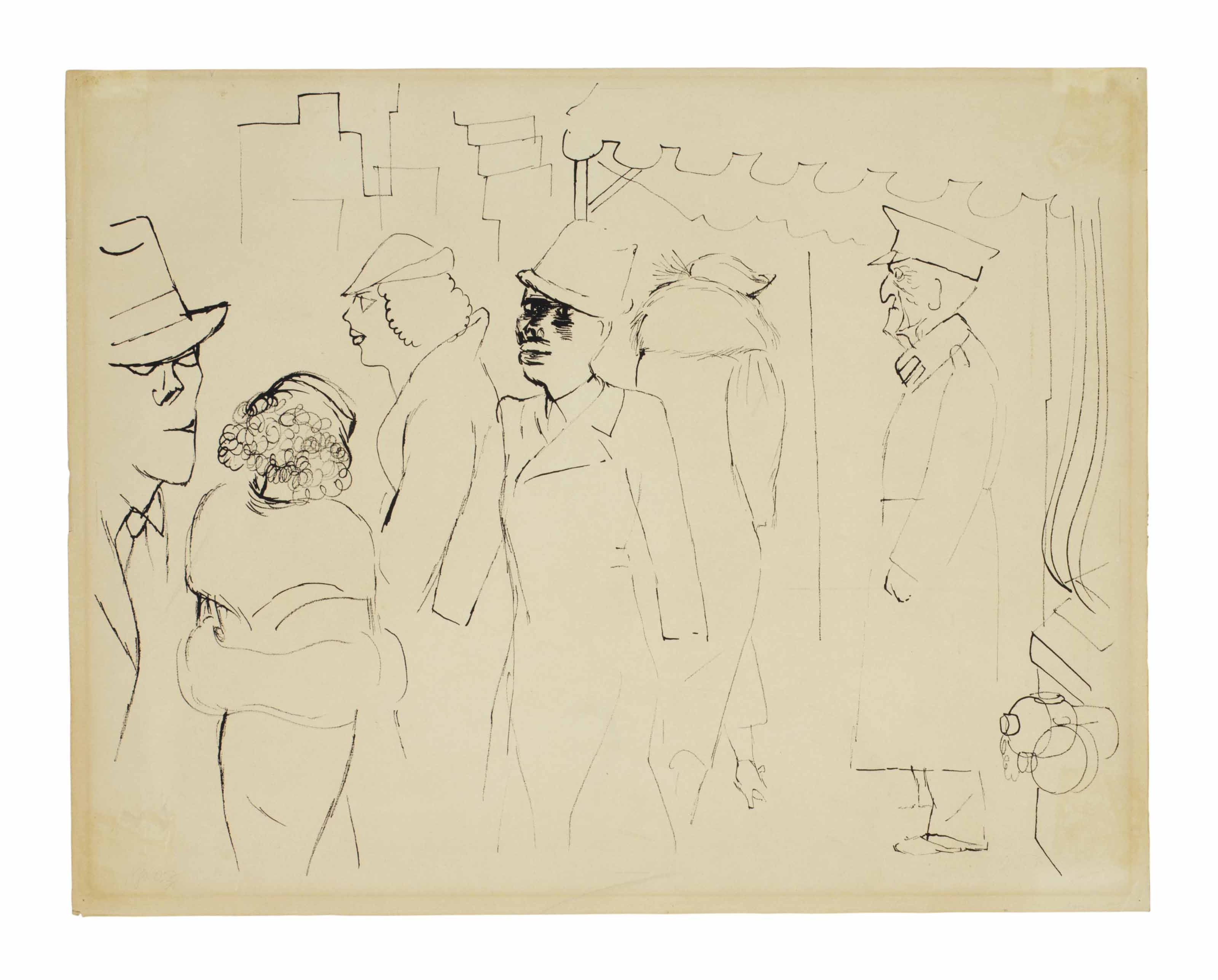 George Grosz (German, 1893-195