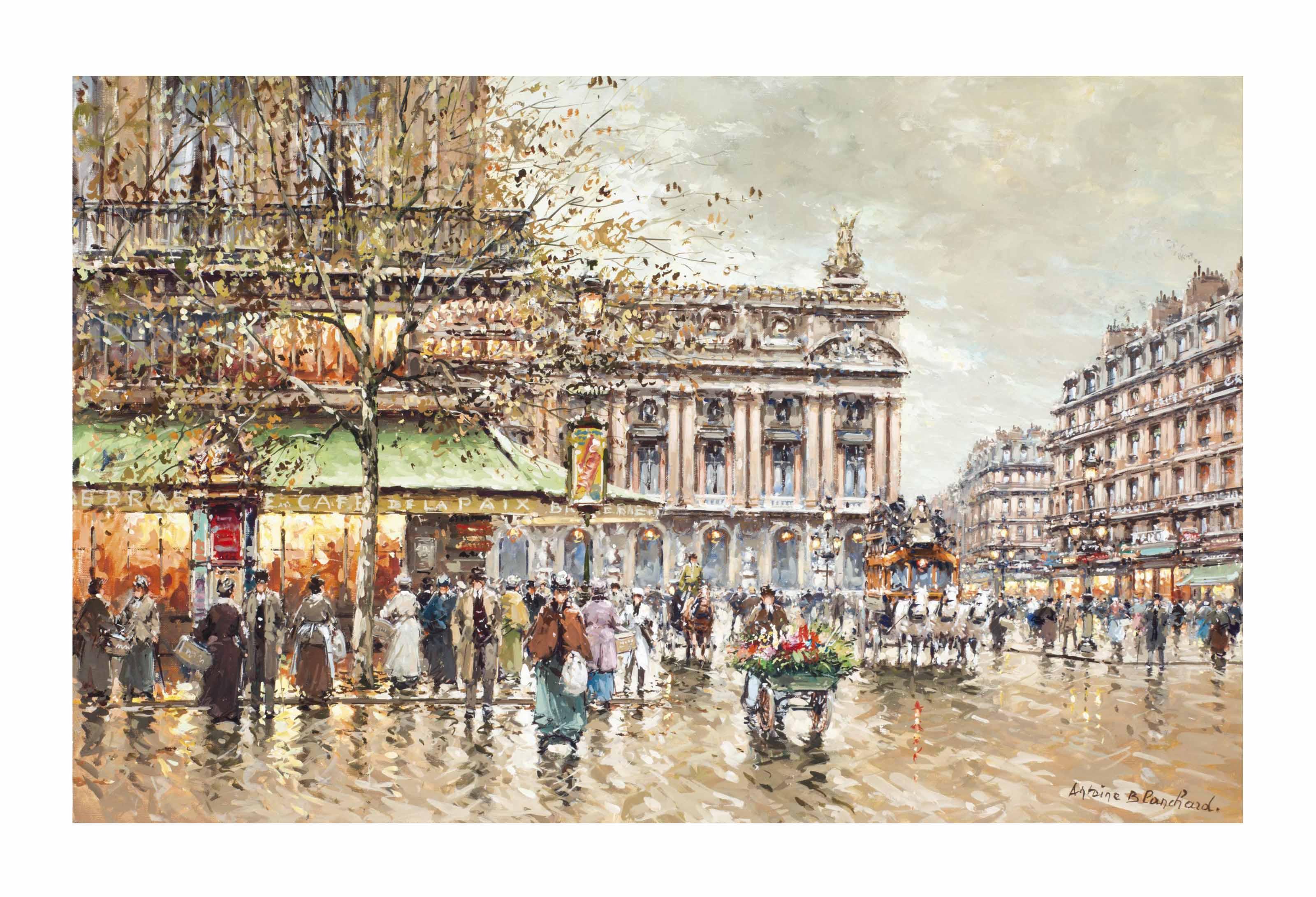Café de la paix l'opéra, Paris