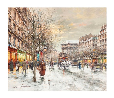 Antoine Blanchard (French, 191