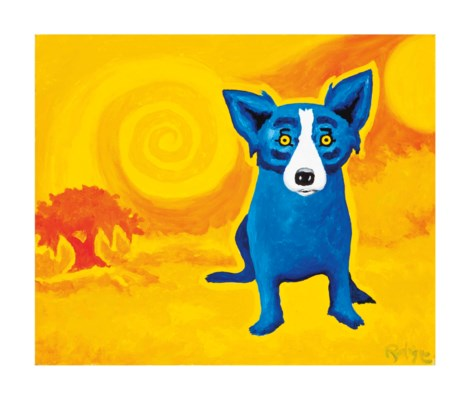 George Rodrigue (American, 194
