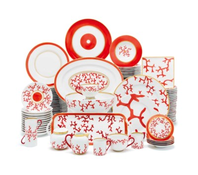 A LIMOGES (RAYNAUD) PORCELAIN