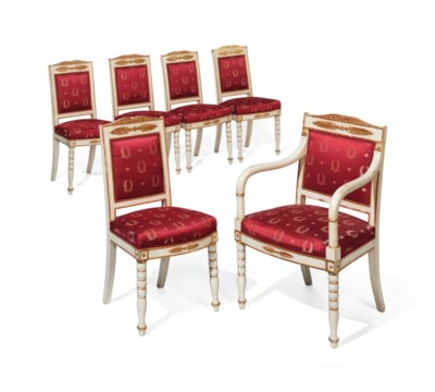 A SET OF SIX LOUIS-PHILIPPE CR