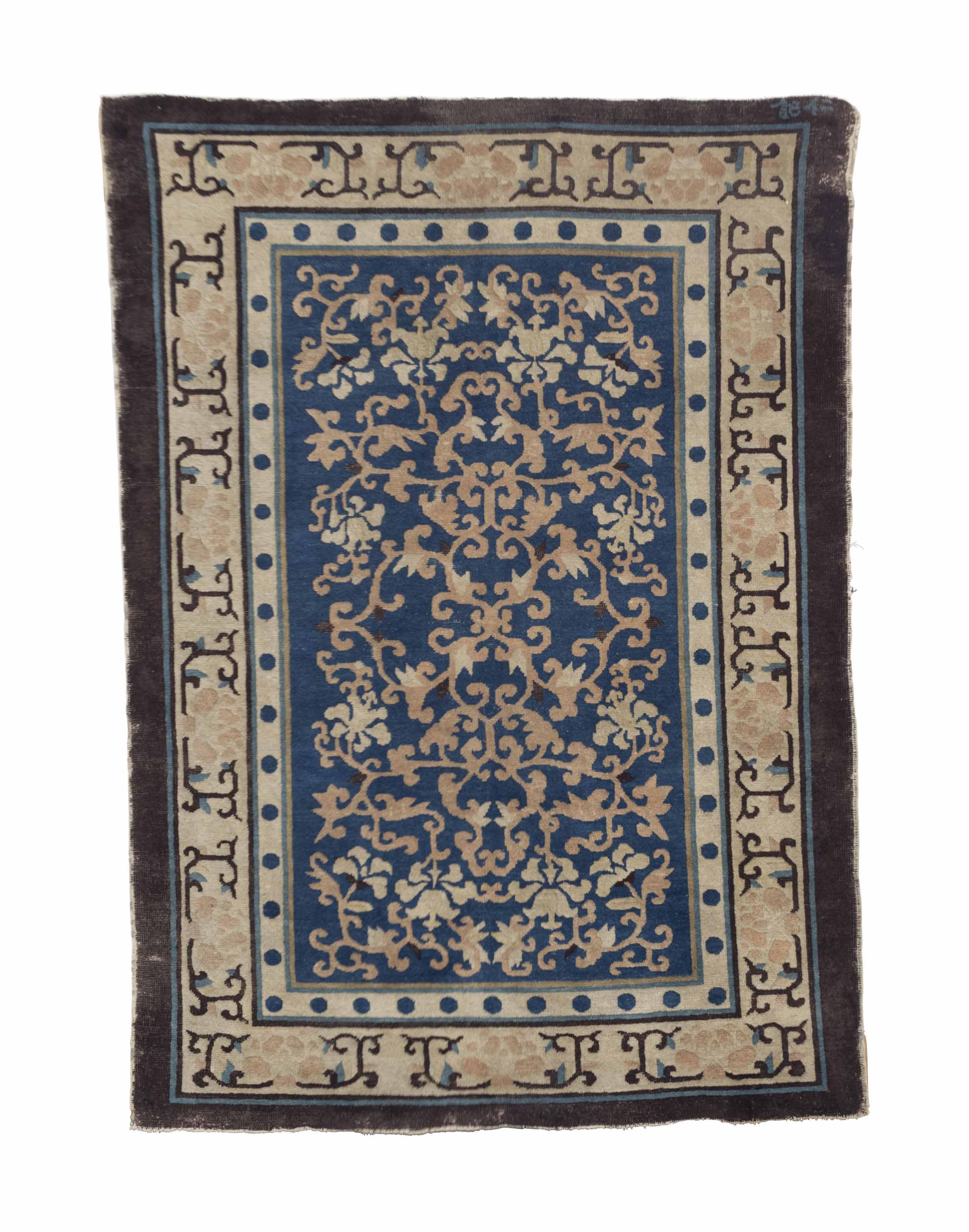 TWO CHINESE RUGS