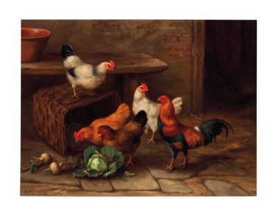 Edgar Hunt (British, 1876-1953