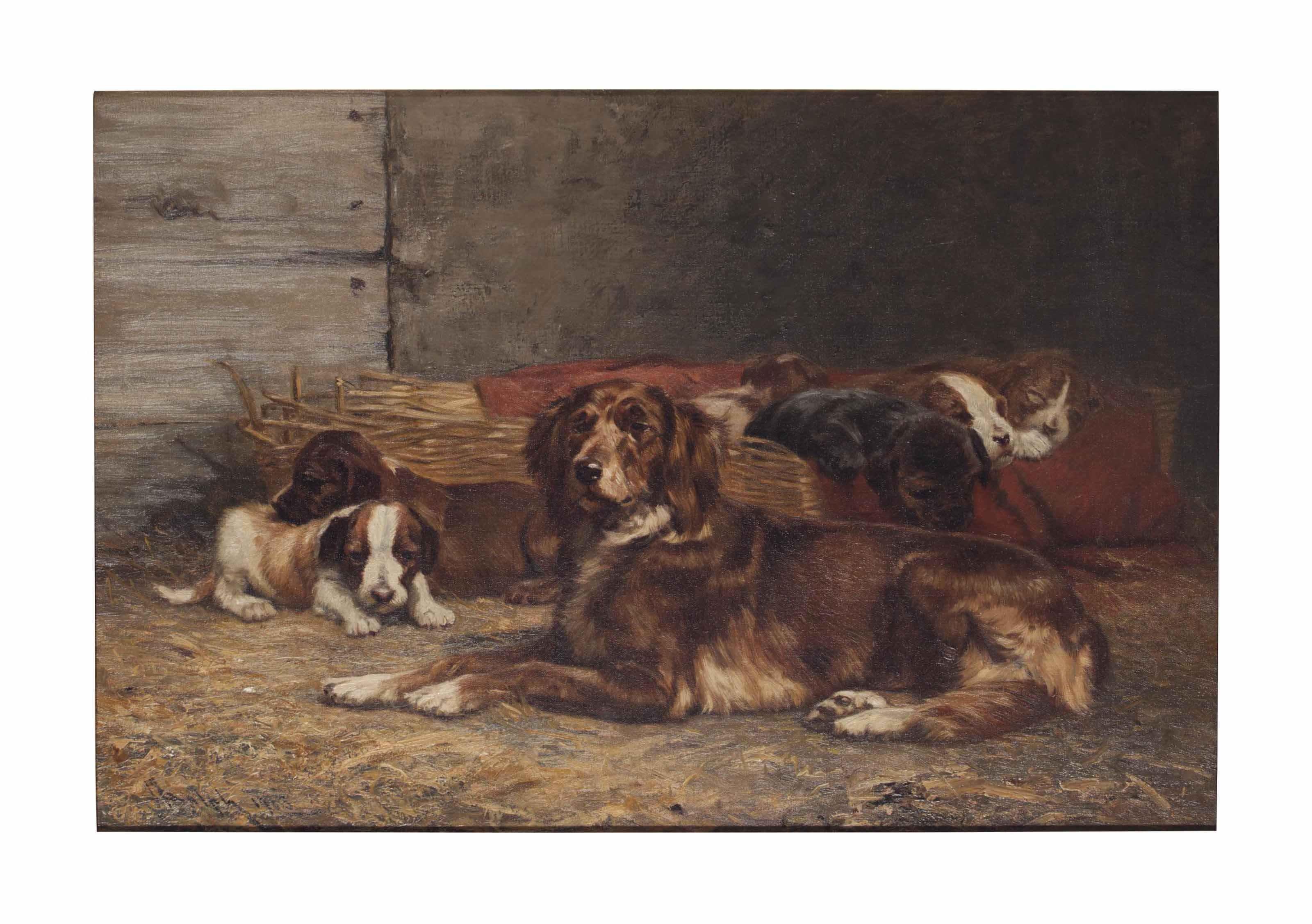 Family at rest