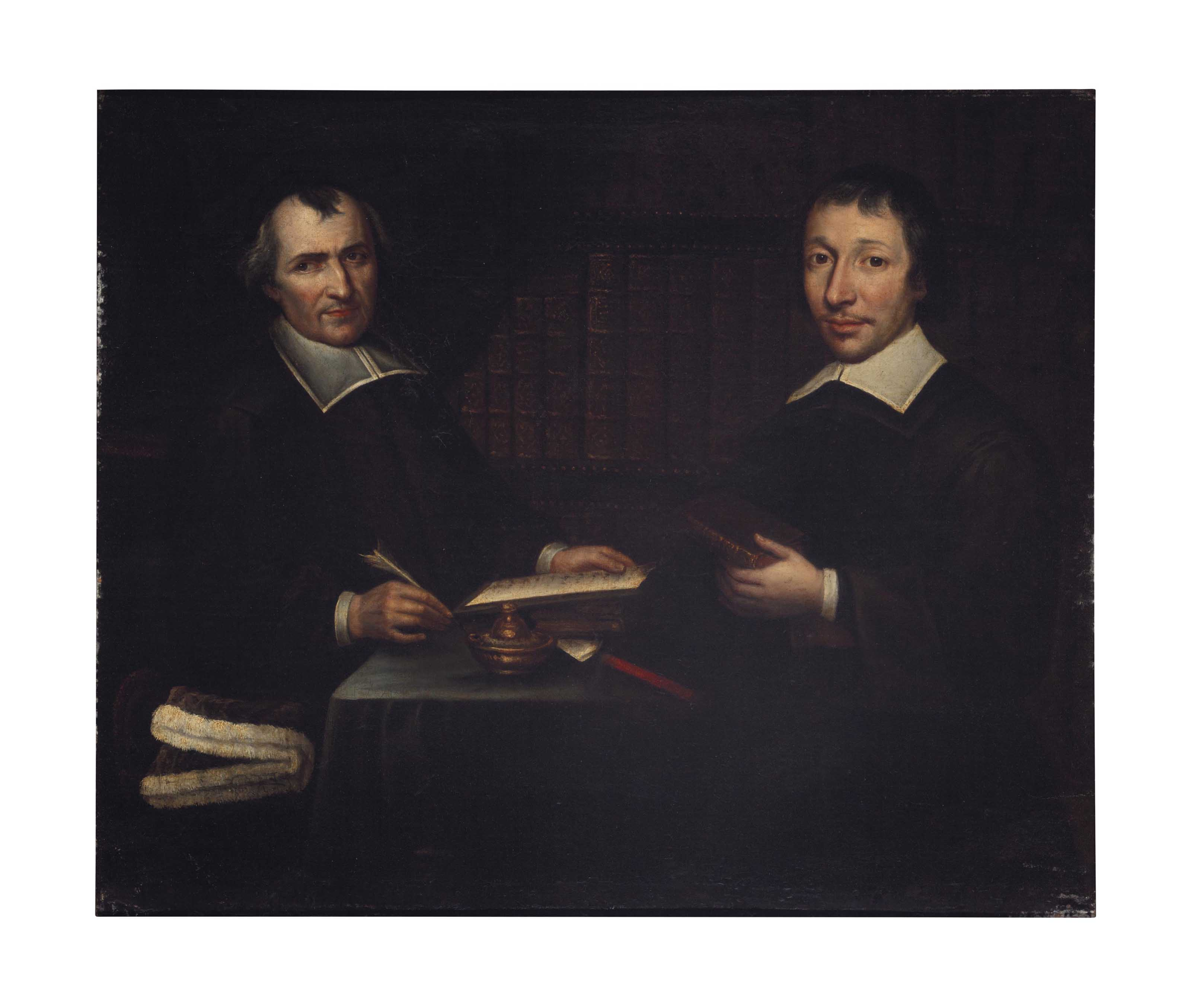 Portrait of Two Jansenists