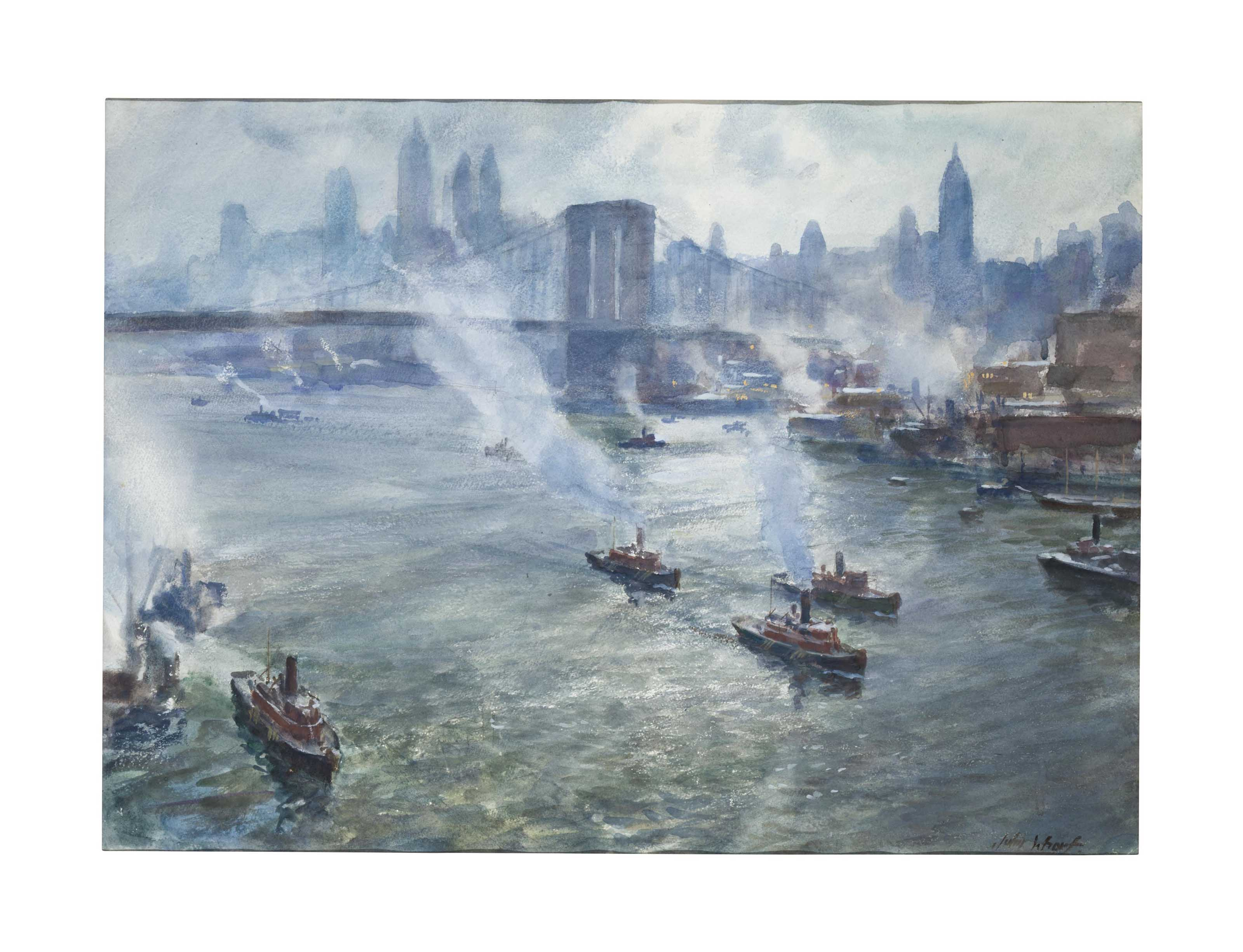 Boats on the East River