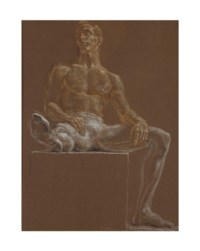 Seated Dancer (Ralph McWilliams)