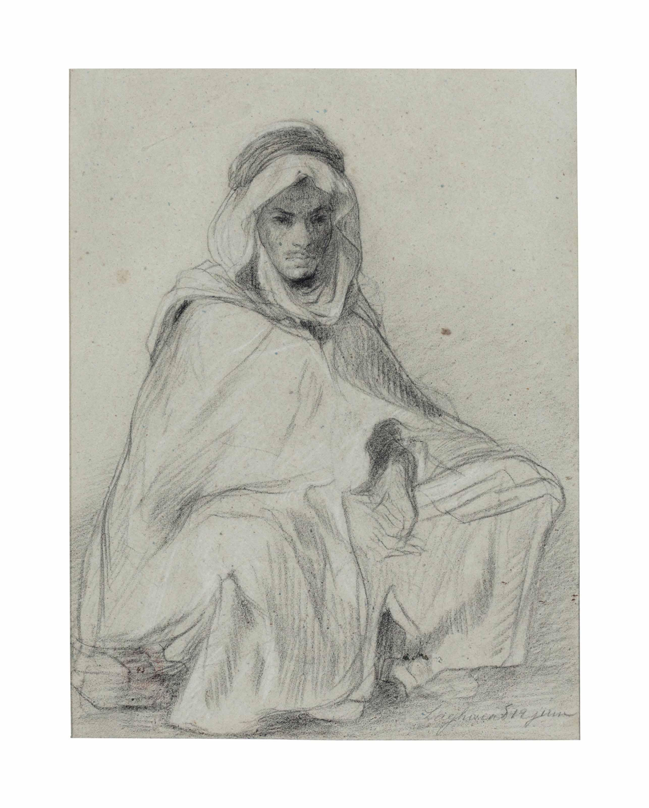 A Seated Arab