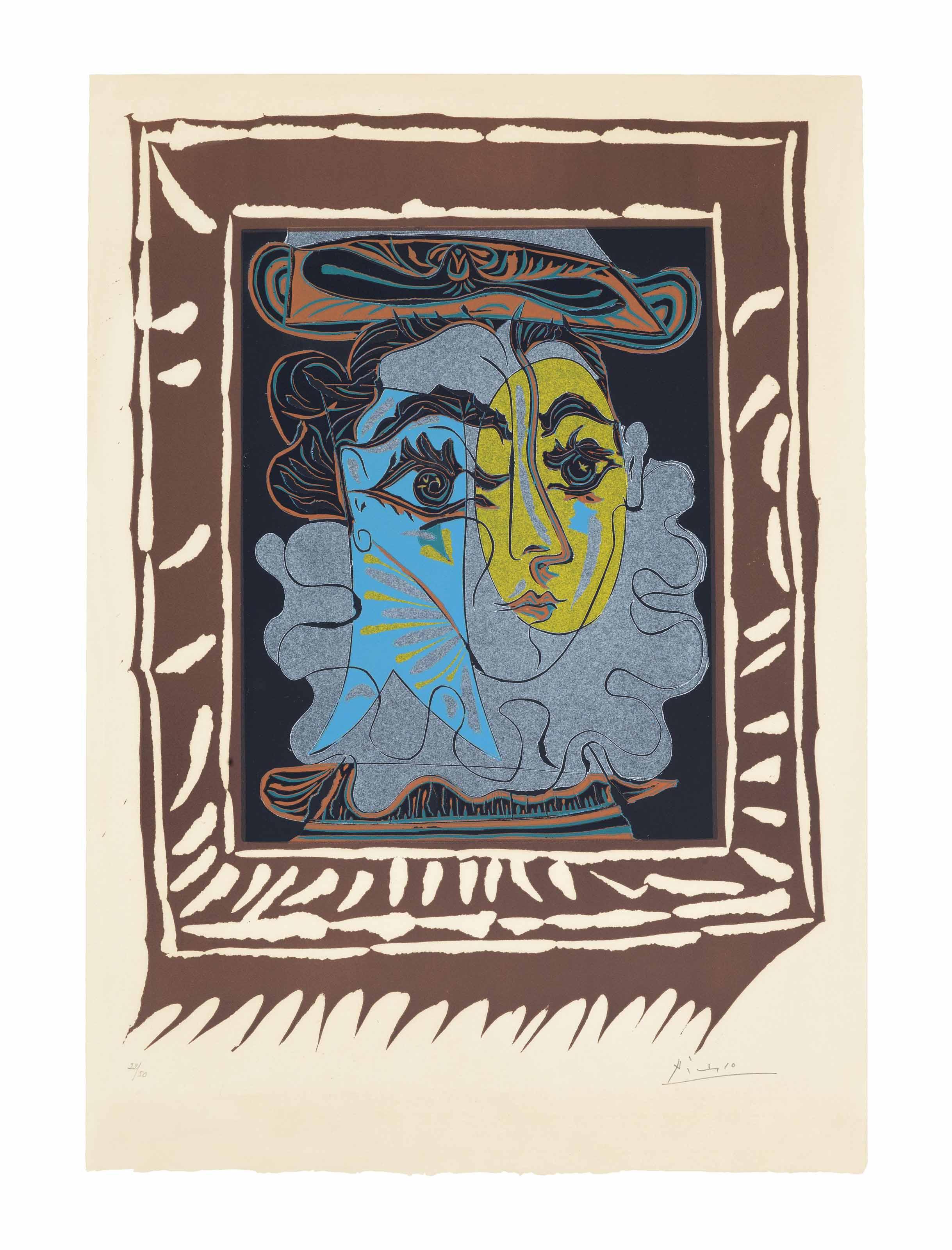 PABLO PICASSO (1881-19730
