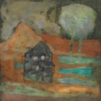 Landscape with Houses and Trees