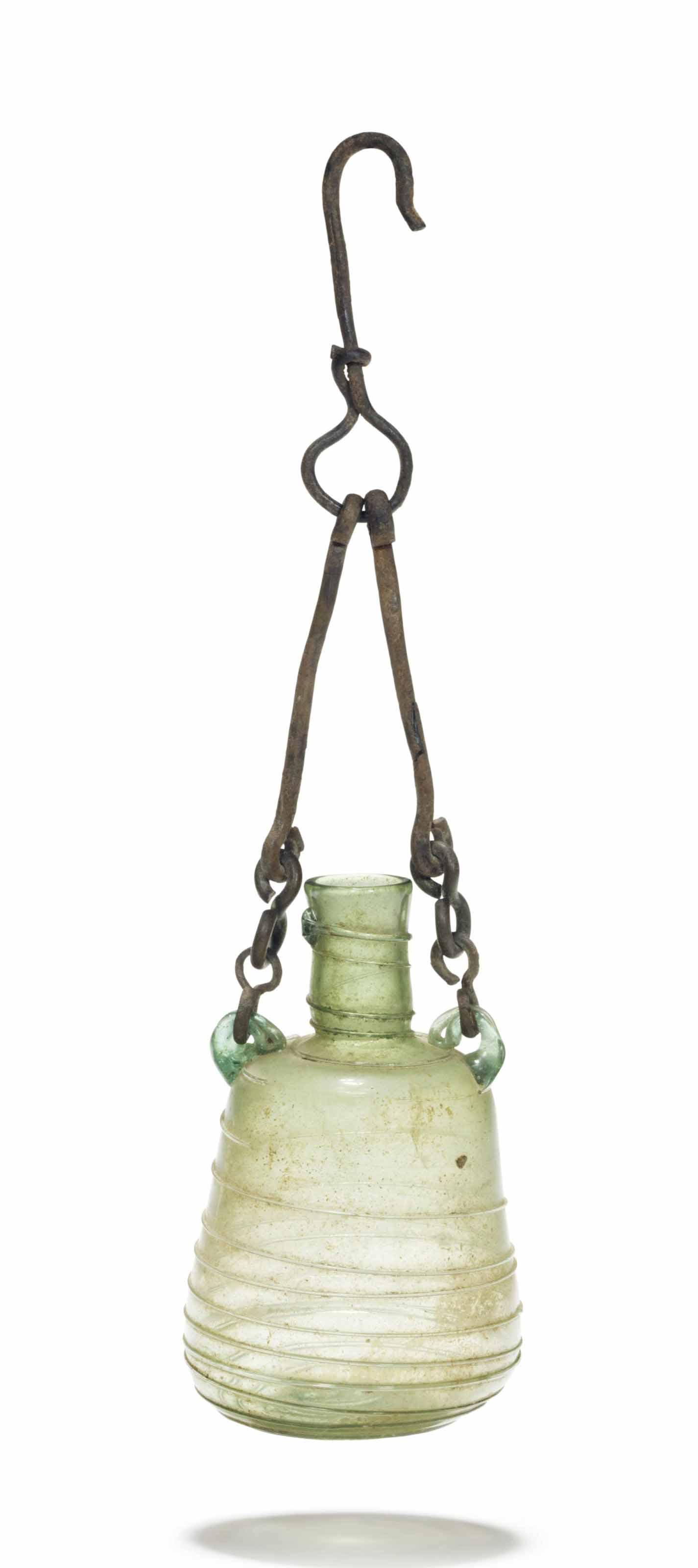 A ROMAN GLASS ARYBALLOS