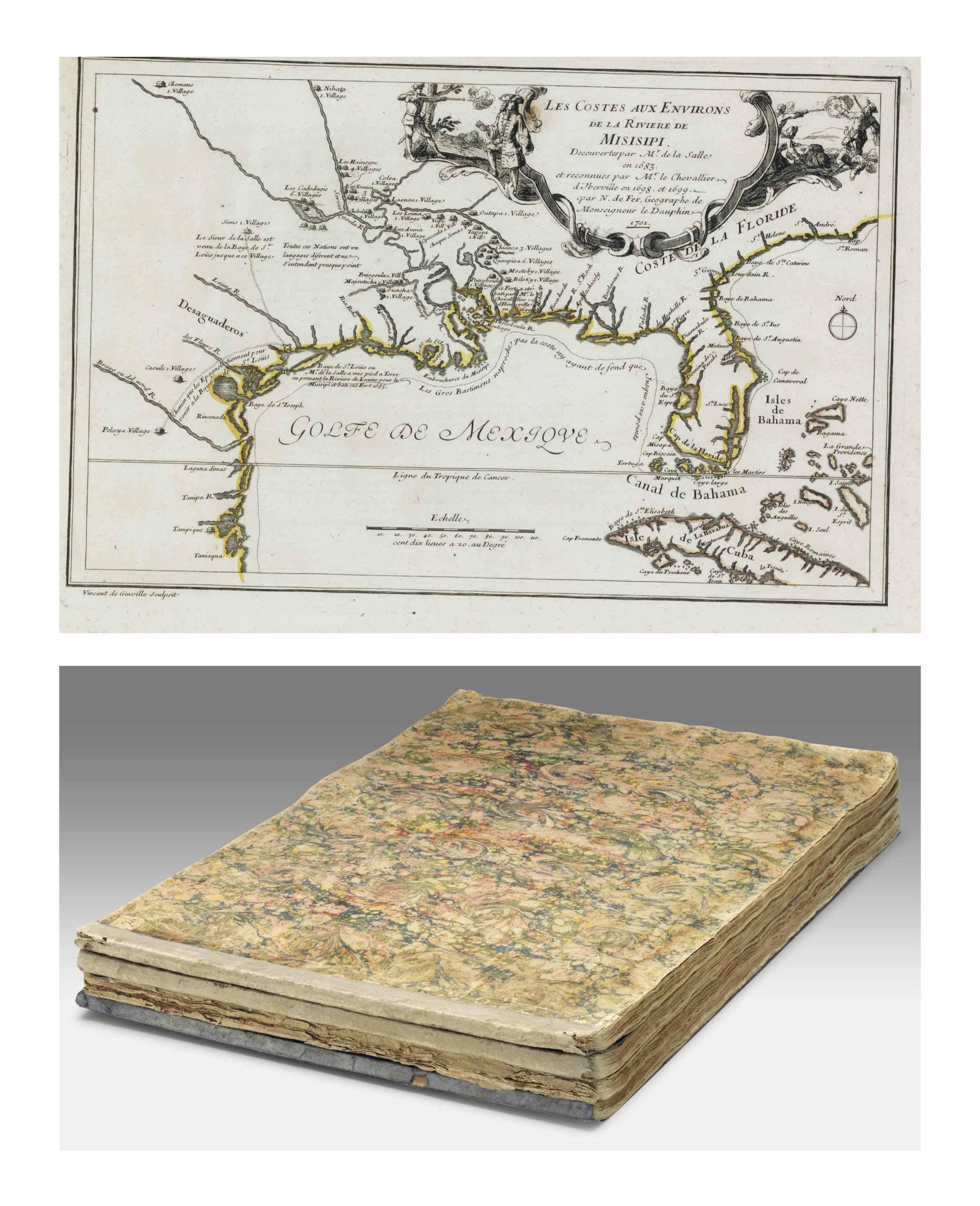 fer nicolas de l 39 atlas curieux ou le monde repr sent dans des cartes g n rales et. Black Bedroom Furniture Sets. Home Design Ideas